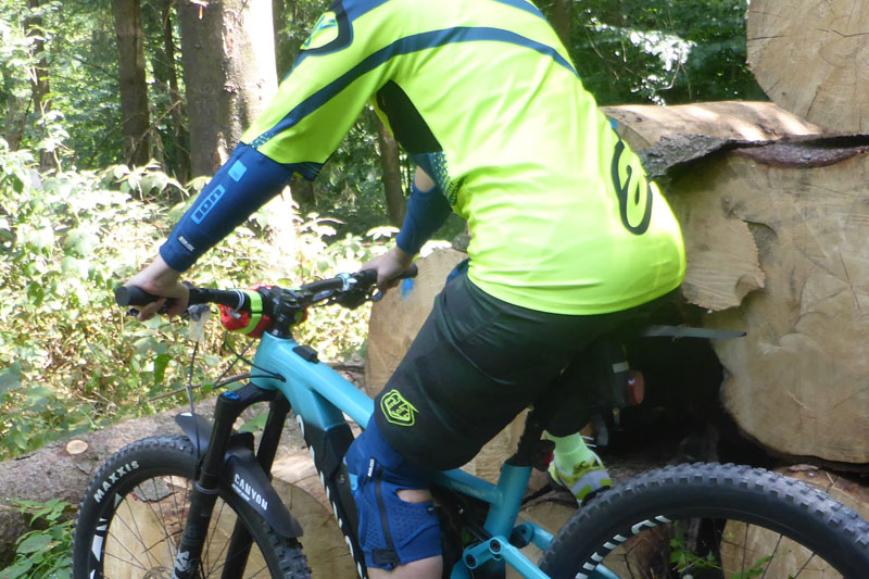 Gut geschützt durch die Mountainbike Saison