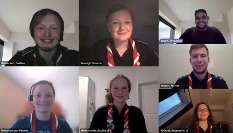 Onlinekonferenz Screenshot